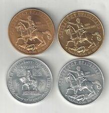 1969 CIVIL WAR GENERAL P.G.T. BEAUREGARD NAPOLEON IN GRAY CONFEDERATE CSA COINS