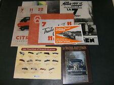 RARE LOT de Photos DVD Pin's Citroen TRACTION Atlas Saga des Tractions au 1/43