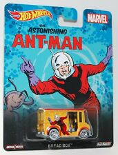 Hot Wheels MARVEL ANT-MAN BREAD BOX COLLECTABLE REAL RIDERS 1:64