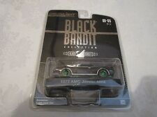 GreenLight Green Machine Black Bandit 1972 AMC Javelin AMX