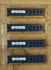 Hynix 8GB (4x 2GB) PC3-10600E (DDR3-1333) DRAM. ECC. Unbuffered. Used.