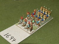 15mm classical / greek - Peltasts 16 infantry - inf (1694)