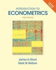 Introduction to Econometrics Update 3rd Int'l Edition