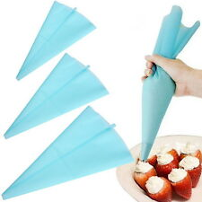 34cm Silicone Reusable Icing Piping Cream Pastry Bag Cake Decorating Tool LN