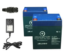 Razor Crazy Cart Battery and Charger Kit, Also Fits Trikke E2 and Junior Wagon