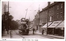 Raynes Park. The Trams # 1844 by Hutchinson & Co.,Wimbledon.
