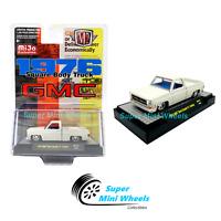 M2 Machines Square Body Truck 1976 GMC Sierra Grande 15 (White)  MiJo 1:64