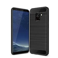 Samsung Galaxy S9 Cover Carbon Silicone Protection Phone Cover Case