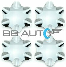 1999-2000 CADILLAC ESCALADE GMC YUKON DENALI CHROME WHEEL CENTER CAPS HUBS SET