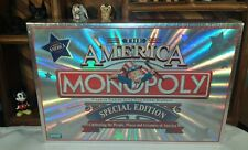 2002 Monopoly The America Special Edition Game Parker Brothers - New Sealed