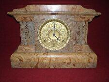 Antique Seth Thomas Butternut Adamantine Clock Made in  USA 1893
