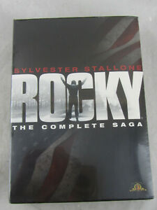 NEW - Rocky - The Complete Saga Collection (DVD, 2009, 6-Disc Set) Sealed