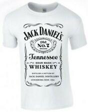 Jack Daniels JD No 7 Inspired Vintage Look Print T Shirt Unisex TShirt New Sale