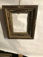 "Vintage Victorian Eastlake Shadow  box Picture Frame Fits 6"" by 8"" Painting"