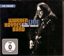 2 CD + DVD (NEU!) WARREN HAYNES Band live at the Moody theatre (mkmbh