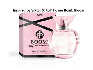 Inspired by Viktor & Rolf Flower Bomb Eau De Parfum For Women 100ml EDP Perfume