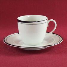 Kaffeetasse & Untertasse Friesland La Belle Black & White
