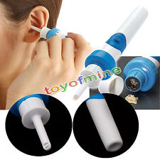 Ear Wax Cleaner Removal Earwax Remover Spiral Soft Safe Tool NEW