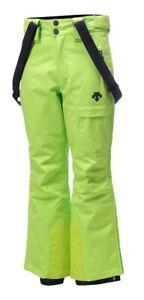 Descente Ryder Ski Pants - Boy's - Lime Green (40) - 12
