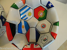 Fifa soccer ball South Africa 2010 flags of countries on world cup # 5 Christmas
