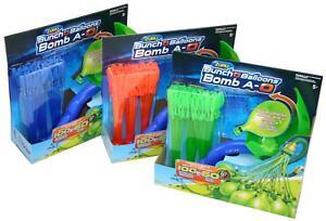 Bunch O Balloons 100 Wasserbomben mit Werfer Launcher Schleuder Zuru