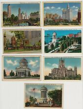 Lot of 7 Old Postcards - Views of New York City