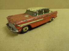 VINTAGE DINKY TOYS MADE IN ENGLAND N° 174 / HUDSON HORNET RED WITH WHITE ROOF