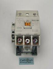 BENSHAW RSC-85 Contactor 85Amp 3-Pole NEMA Size 3 Coil 120V 60Hz  **WARRANTY**