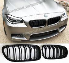 BMW 5,2010-17,F10/F11,saloon/estate,dual/twin slat,M5/M6 look grille,GLOSS BLACK