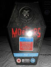 Universal Classic Monsters Collection Limited Edition Coffin Box Set Blu-ray NEW