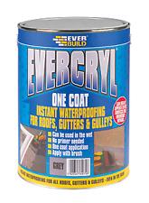 Everbuild EVC02GR Evercryl One Coat 2.5Kg - Grey