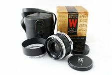 Olympus E.Zuiko Auto W 25mm f/4 Wide Angle for Pen F FV FT from JAPAN [Exc+++++]