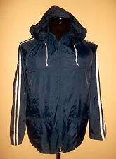 Vintage Golden Team 80`s nylon lluvia chaqueta Rain Jacket blues festival punk M