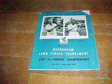 1964 Beckenham Lawn Tournament Tennis Program