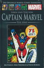 OFFIZIELLE MARVEL COMIC SAMMLUNG 75 (C 24)TOD CAPTAIN MARVEL Hachette Collection