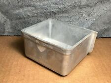 """Hoei Metal Large Pet Bird Seed Cup 