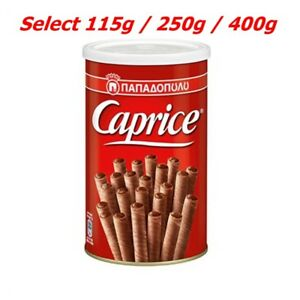 Wafers Papadopoulou Caprice Classic Viennese with hazelnut & Cocoa Cream