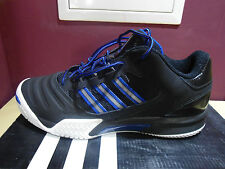 ADIDAS STREETBALL 2.0 LOW BLACK AND BLUE SNEAKER BASKETBALL US 8,5 EUR 42 UK 8