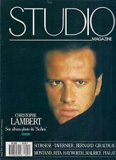 STUDIO N° 1--CHRISTOPHE LAMBERT / SON ALBUM PHOTO DU SICILIEN