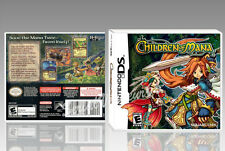 "BOITIER ""CHILDREN OF MANA"", NINTENDO DS, ANGLAIS. SANS LE JEU. NO GAME."
