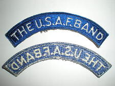 THE USAF BAND TAB PATCH - COLOR