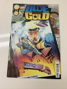 Blue and Gold 2 of 8 Suicide Squad Cover Donny Jorgensen 2021 DC Comics