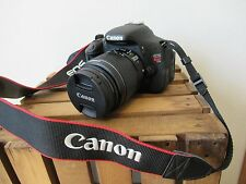 Canon EOS Rebel T3i 600D 18MP Digital SLR Camera 18-135mm WITH EXTRA ACCESSORIES