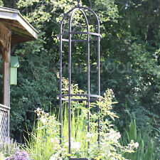 Rankhilfe 183cm Obelisk Pflanzenstütze Gartendeko