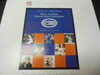 1999 BASEBALL HALL OF FAME PROGRAM RARE BRETT CEPEDA YOUNT RYAN RARE