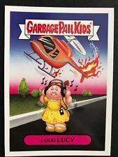 2017 Topps Garbage Pail Kids Series 1 Adam-Geddon #9b LOUD LUCY Dumb Deaths