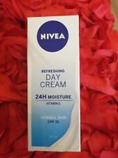 NIVEA REFRESHING DAY CREAM FOR NORMAL SKIN SPF15, 50ml