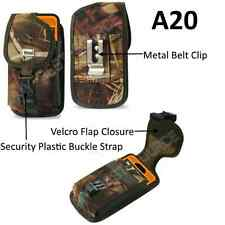 (A20) Pouch Belt Clip Holster Cover For iPhone 7 Plus Fits LifeProof Case - Camo