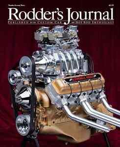 No. 73 1957 Oldsmobile V8 Cover A  RODDERS JOURNAL