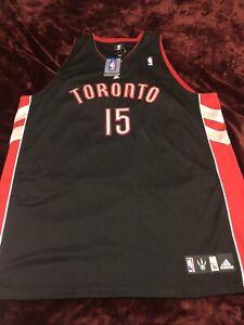 Vince Carter Toronto Raptors Authentic Adidas Jersey 3xl 56 NWT